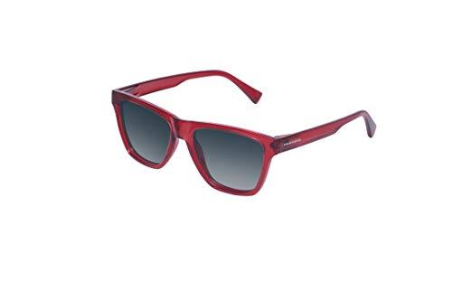 HAWKERS One LS Gafas de Sol, Crystal Red · Blue Gradient, Talla única Unisex Adulto