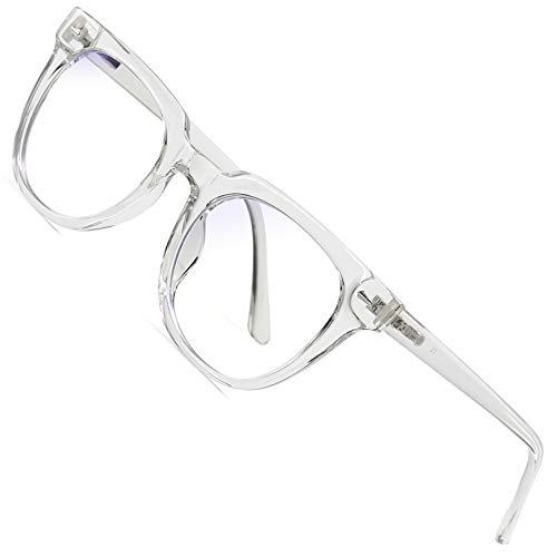 Joopin Gafas Luz Azul para Ordenador Gafas de Protección Anti Fatiga UV para Hombres y Mujeres Lentes con Filtro de Luz Azul Transparente