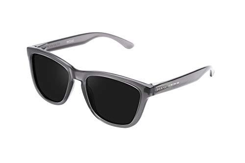 HAWKERS One Gafas de Sol, Crystal Black · Dark, Talla única Unisex Adulto