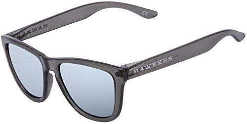 HAWKERS · Gafas de sol ONE para hombre y mujer · CRYSTAL BLACK · BLUE CHROME