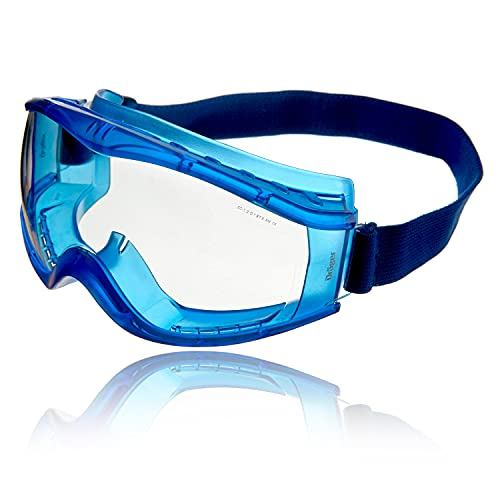 Dräger X-pect 8520 Antiparras   Gafas de Seguridad panorámicas antivaho   Lentes de policarbonato con ventilación indirecta