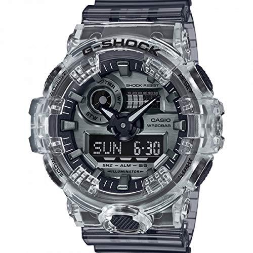 Casio Reloj Digital para Unisex Adulto de Cuarzo con Correa en Caucho GA-700SK-1AER
