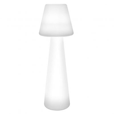 lámpara transparente de pie de mesa comedor moderna metacrilato tienda online de artículos transparentes