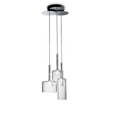 lámpara transparente colgante de techo tienda online de artículos transparentes metacrilato