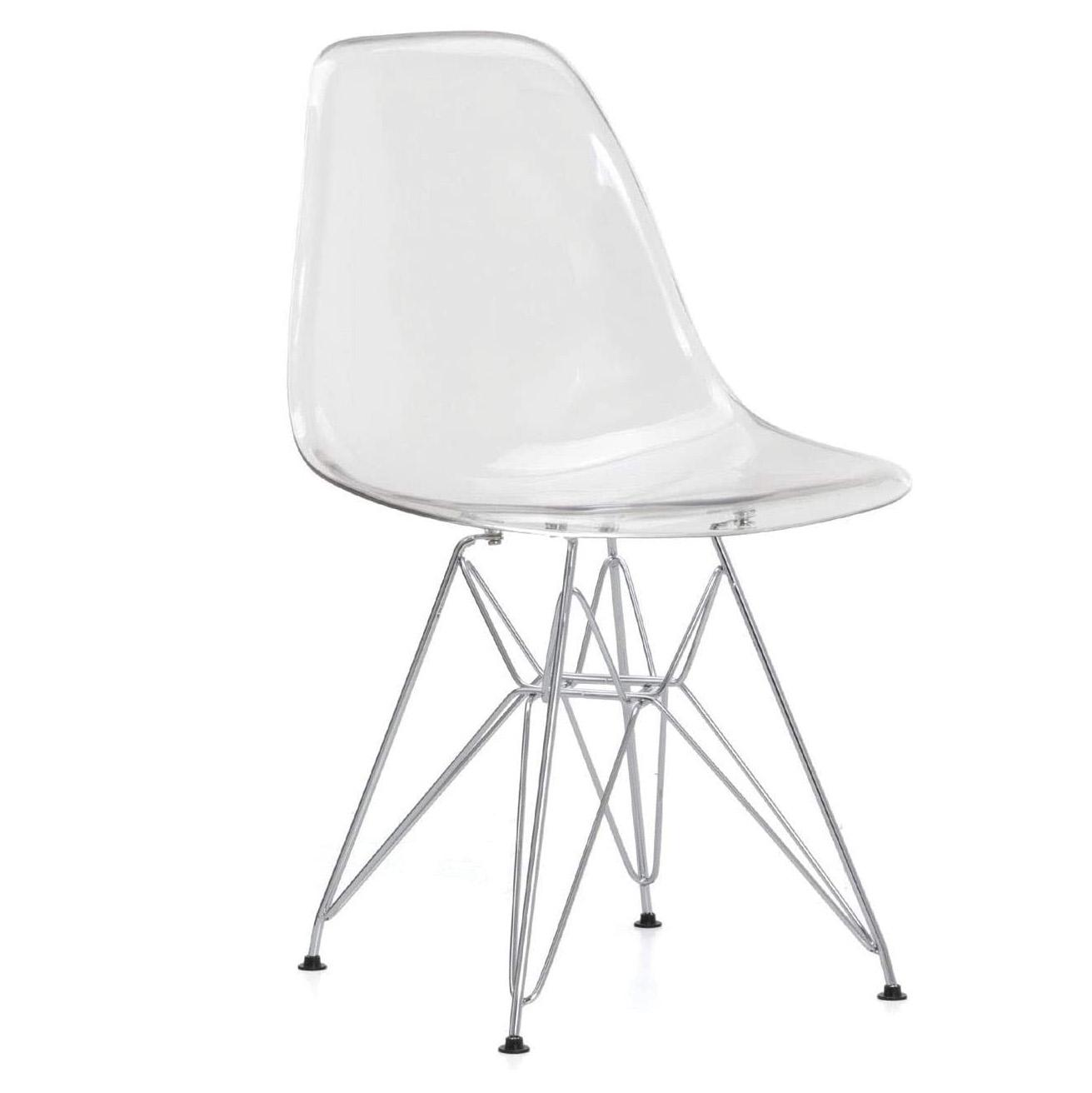 sillas transparentes para comedor y oficina de metacrilato escandinava tienda online de artículos transparentes