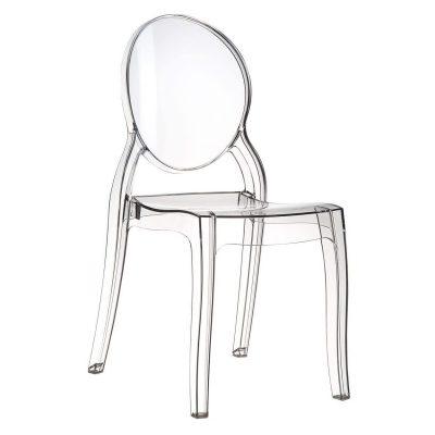 silla transparente de comedor tienda de artículos transparentes metacrilato