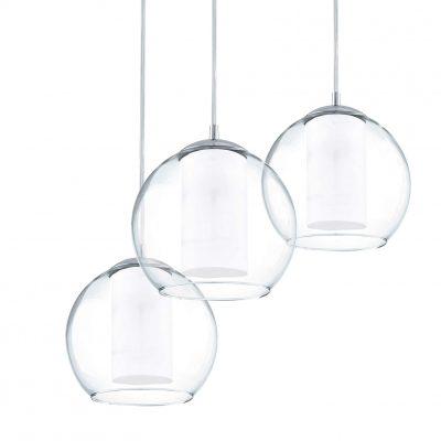 lámparas transparentes de techo colgante de cristal modernas tienda online de artículos transparentes