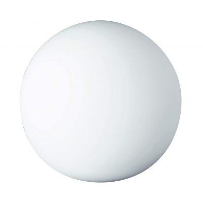 lámpara transparente de mesa de diseño bola
