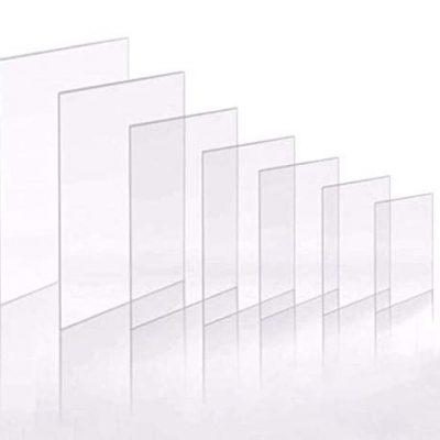 láminas transparentes de plexiglas para marcos de foto transparentes