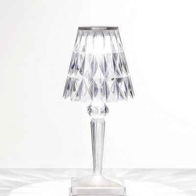 lámpara transparente
