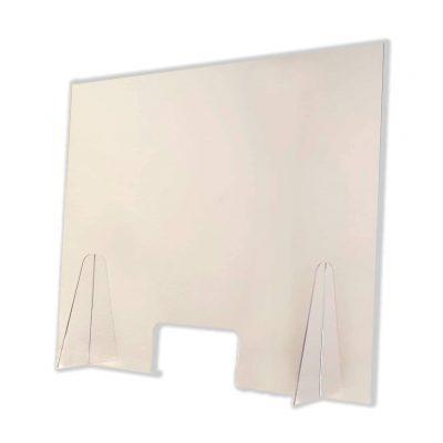 mampara transparente para mostrador oficina de protección transparente