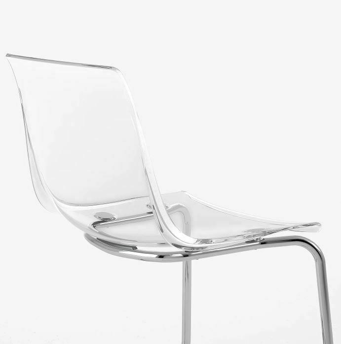silla transparente de comedor y oficina barata para hogar de metacrilato y policarbonato tienda online de artículos