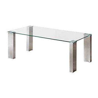 Mesa de centro de vidrio transparente para comedor tienda online de artículos transparentes cristal