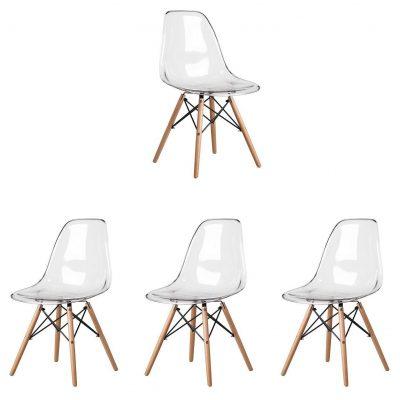 sillas transparentes de policarbonato para comedor metacrilato salón tienda online de artículos transparentes