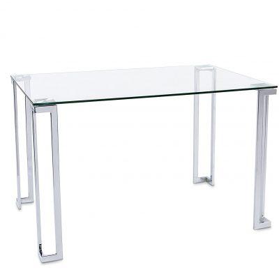 mesa transparente de comedor de cristal tienda de artículos transparentes online