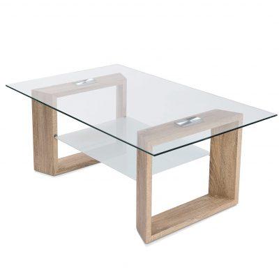 Mesa de centro transparente para comedor y salón tienda online de artículos transparentes