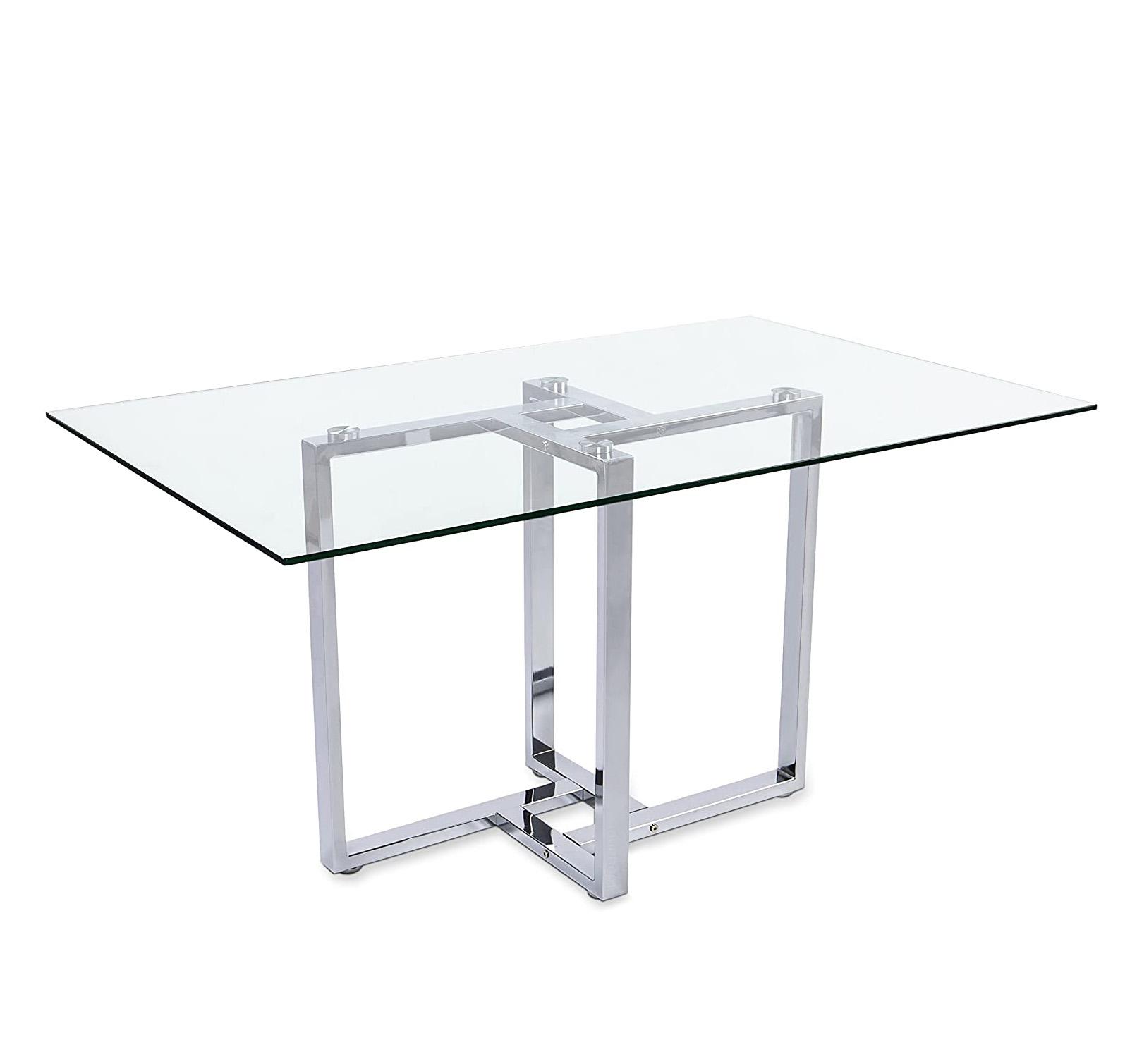 Mesas transparentes para comedor y oficina de cristal tienda online de artículos transparentes