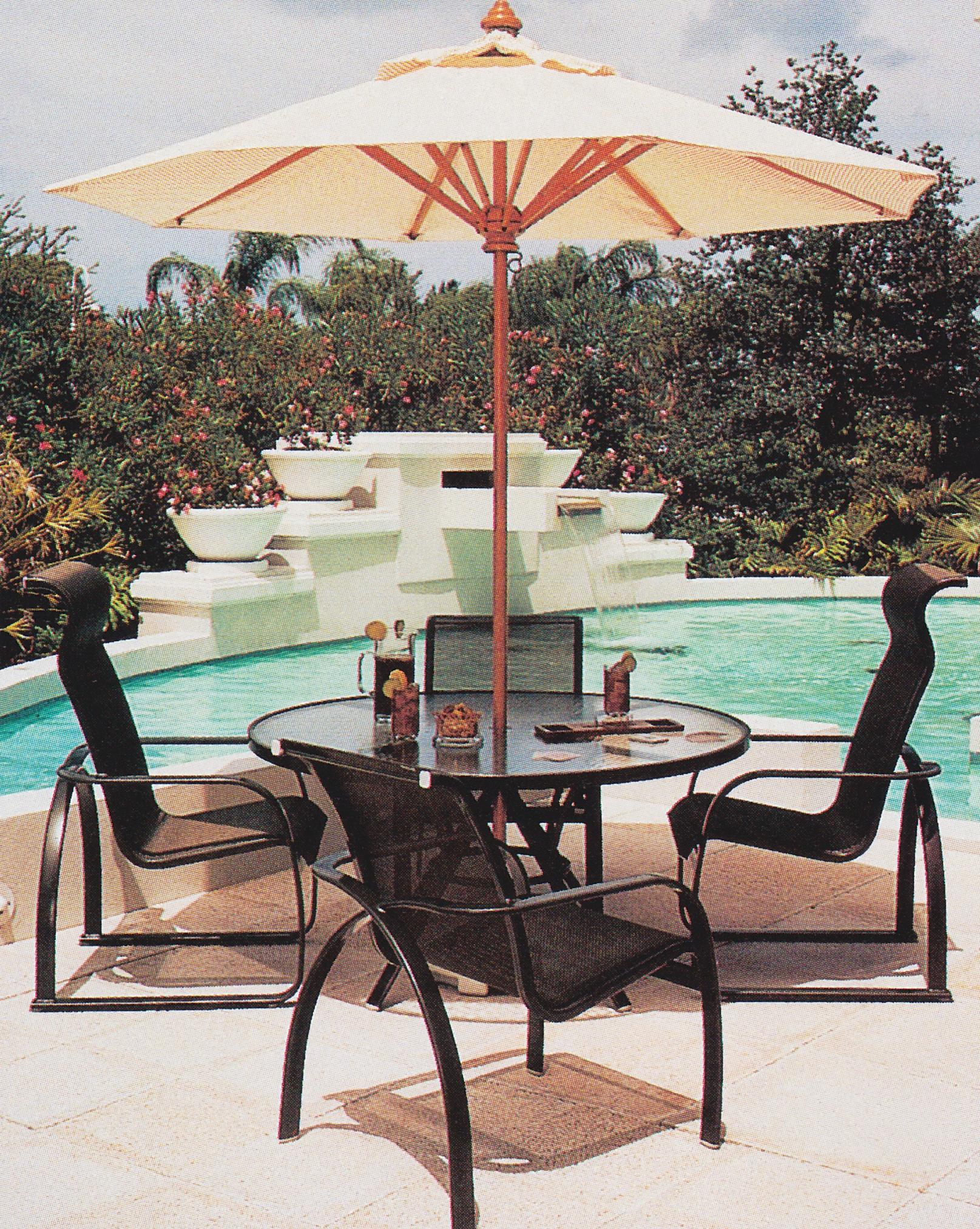 silla hamaca de piscina negra de comedor de tela tienda de artículos transparentes online
