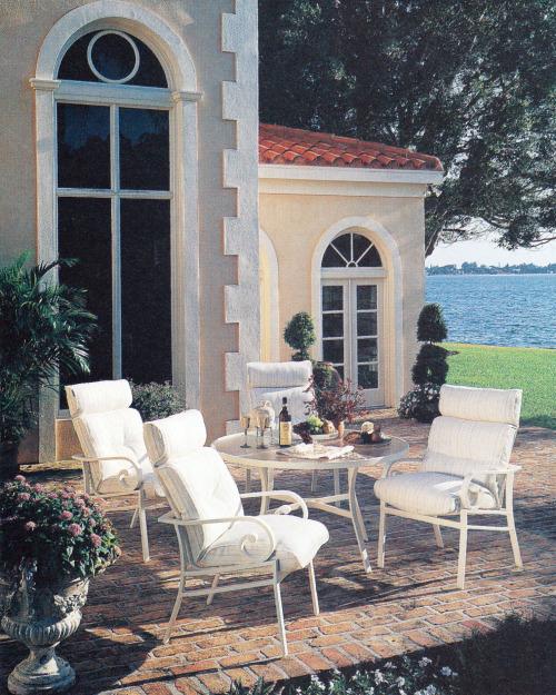 sillas de exterior blancas hamacas piscina metálicas tienda online de artículos transparentes