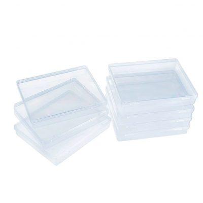 cajas transparentes almacenamiento transparente tienda online de artículos transparentes organizador de plástico