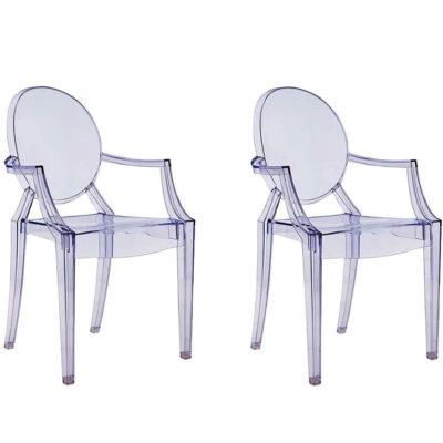 sillas de policarbonato transparentes para comedor y cocina metacrilato