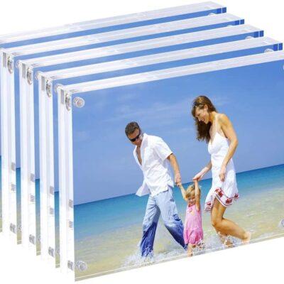 Marcos de foto transparentes acrilico