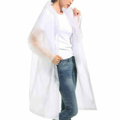 chubasquero transparente unisex impermeable para lluvia moderno para niño