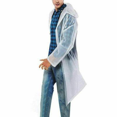 chubasquero transparente impermeable poncho de lluvia transparente con capucha hombre mujer niño