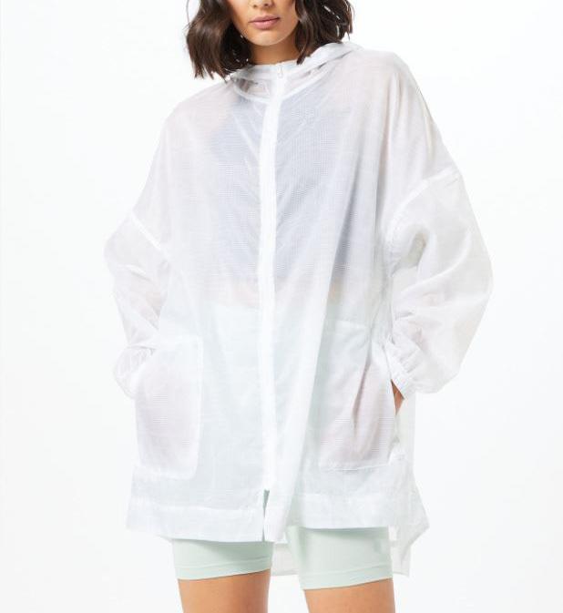 Chubasquero transparente deporte lluvia para hombre mujer