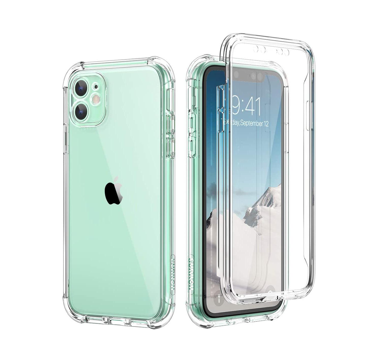 funda transparente iphone 11 carcasa transparente