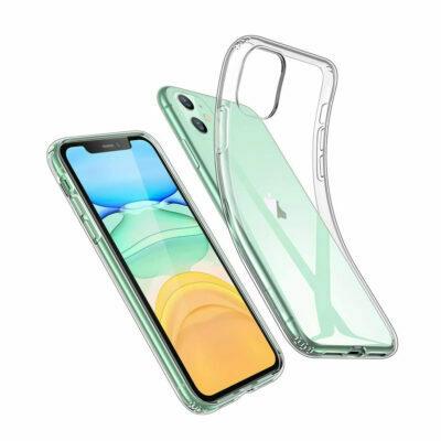 funda transparente iphone 11 protector pantalla