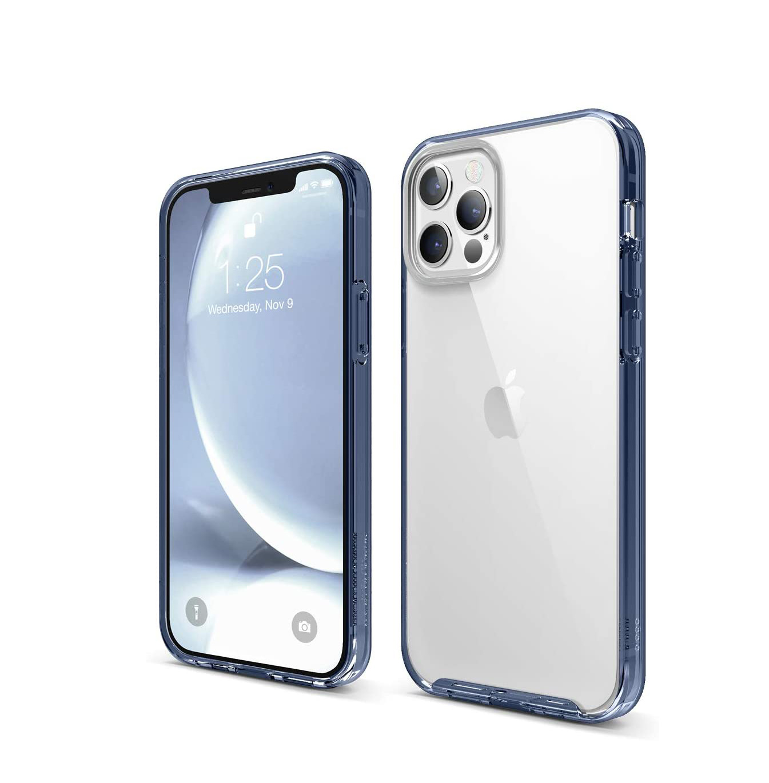 funda transparente iphone 12 de colores