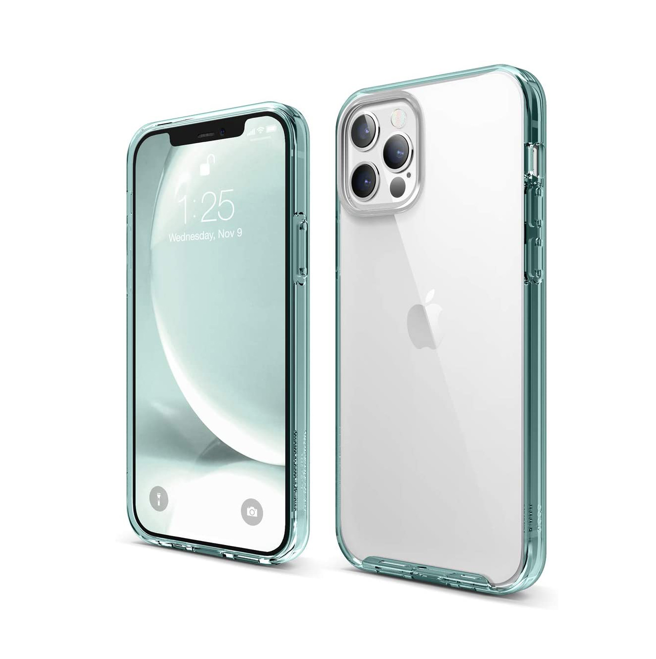 funda transparente iphone 12 funda de plastico