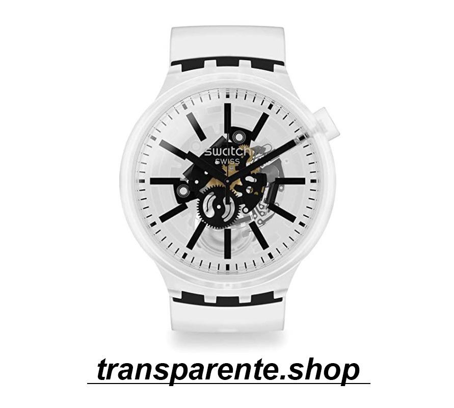 relojes transparentes analogico