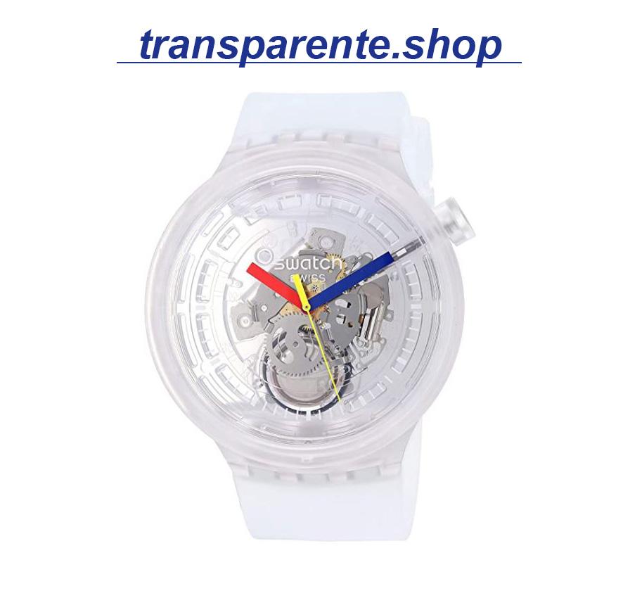 relojes transparentes