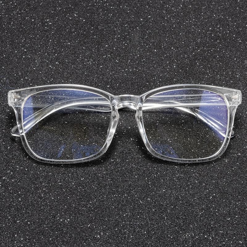 gafas de ver transparentes montura transparente de metacrilato transparente