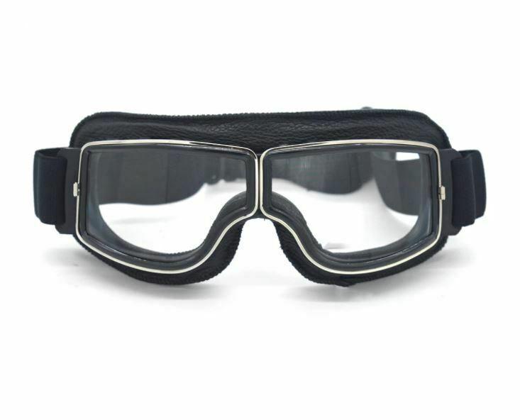 gafas de moto transparentes motero cristal clasicas